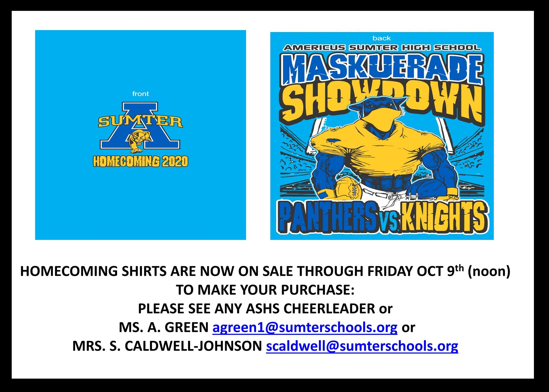 homecoming shirts on sale now