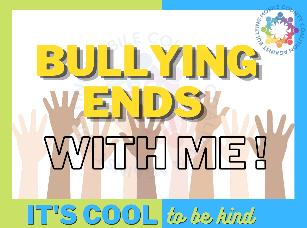 Bullying Ends With Me Poster