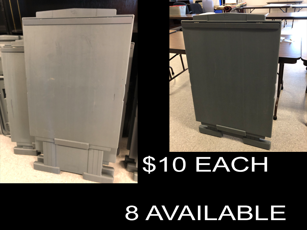 $10 Flip Chart Stands (8 available)