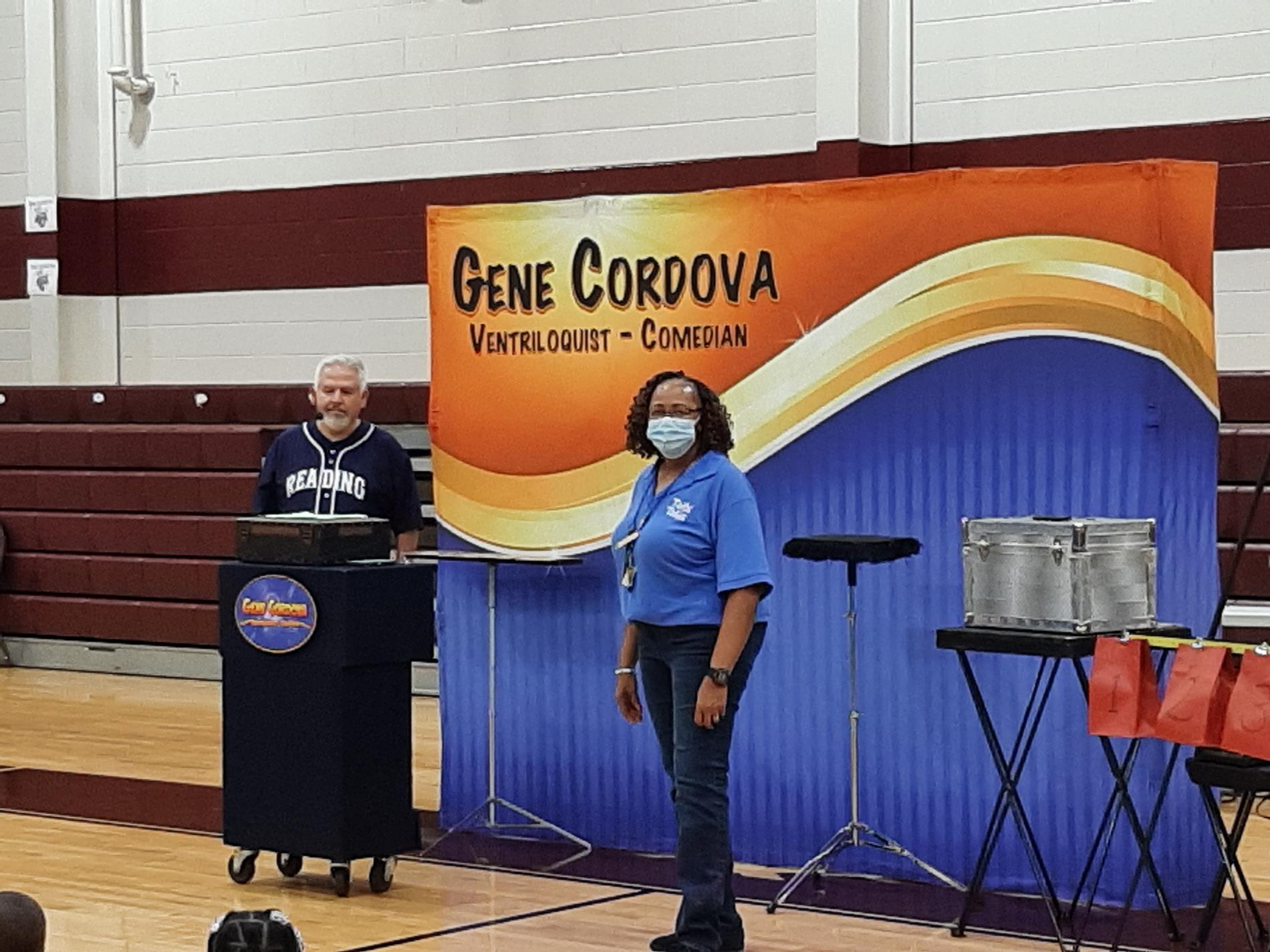 Gene Cordova, Ventriloquist/Comedian, Betty Fair, Quitman County Library
