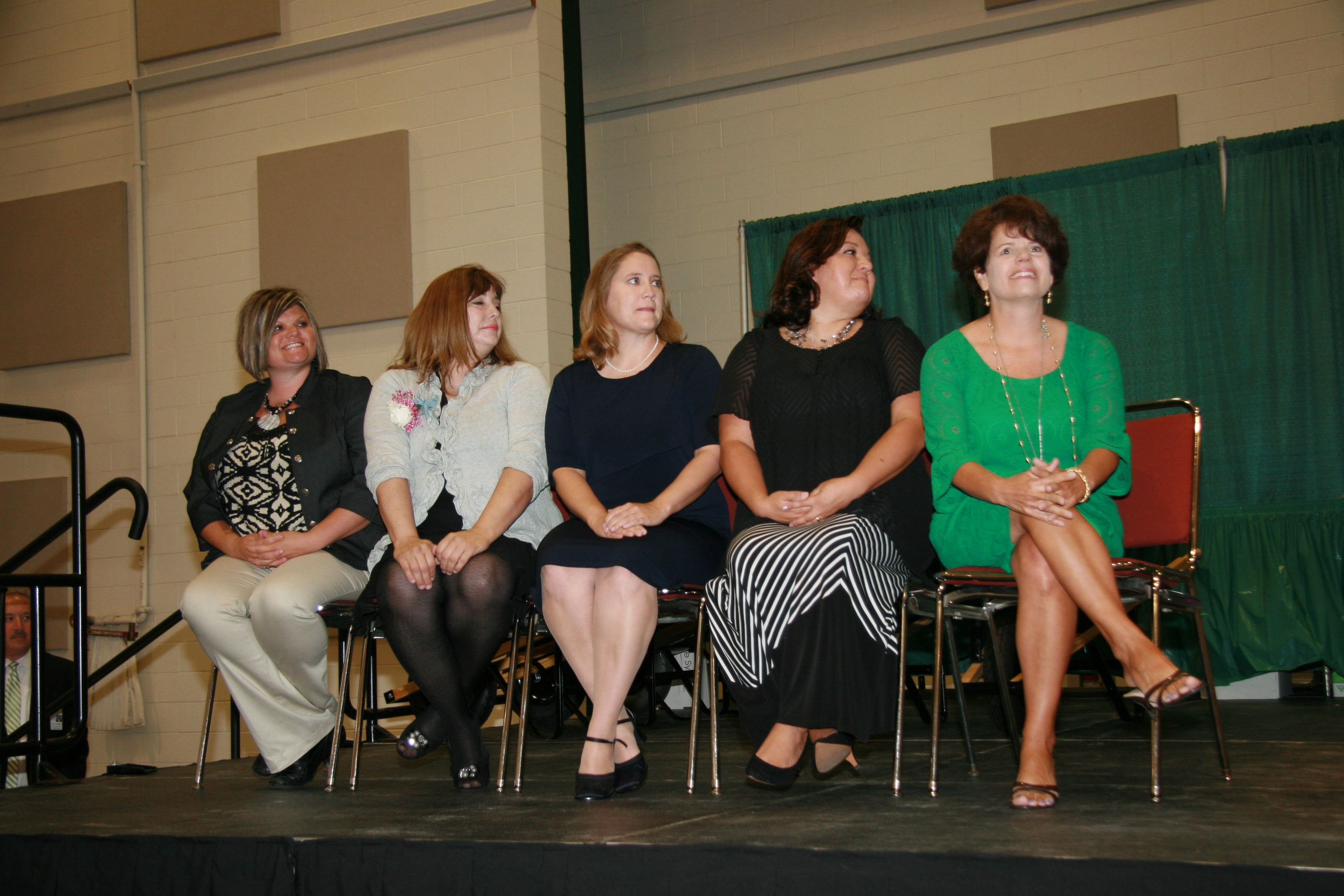 2014-2015 top five teachers of the year