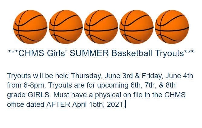 Girls Summer Basketball