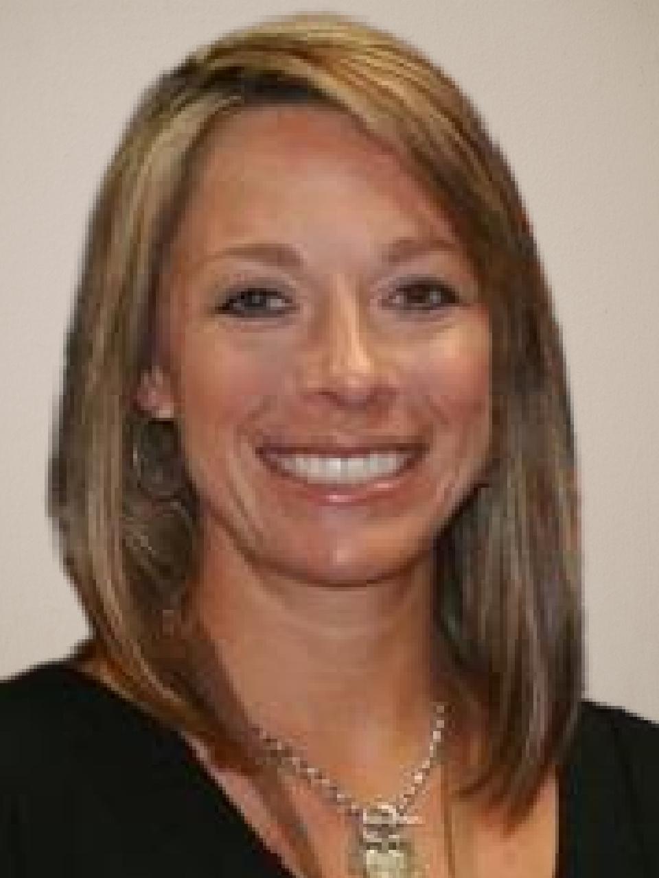 Close-up of Jennifer Klinger