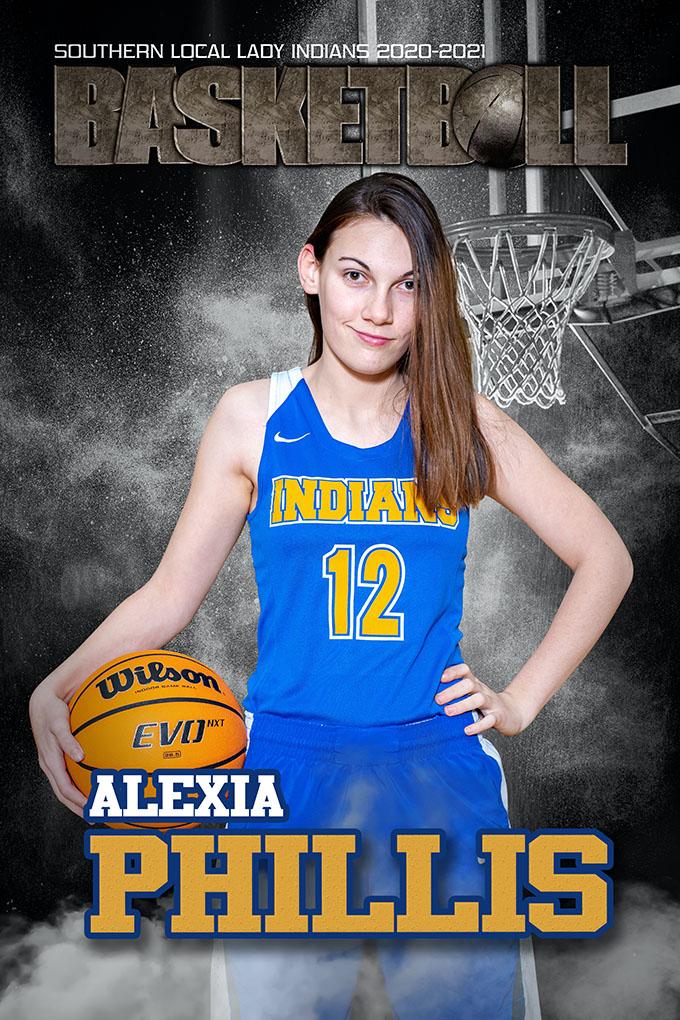 Senior Alexia Phillips