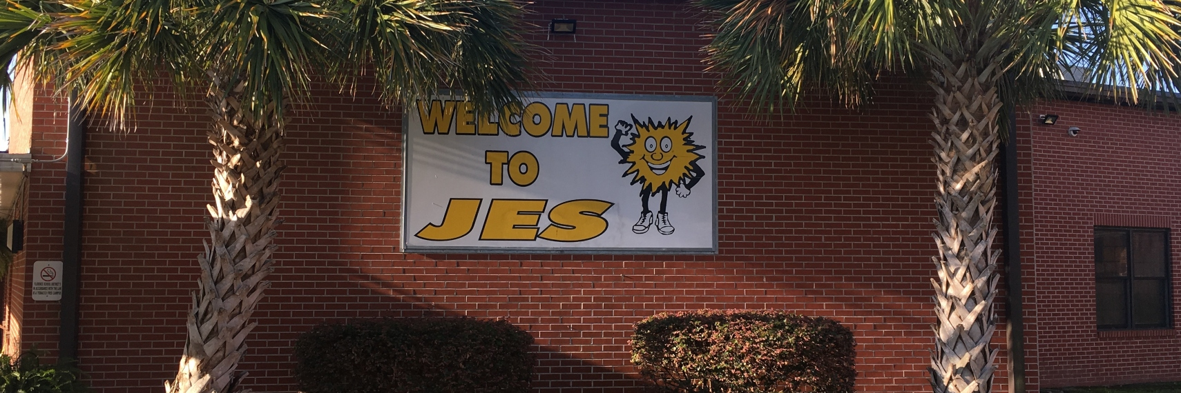 JES Front of School