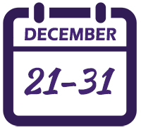 image for Dec 21-31