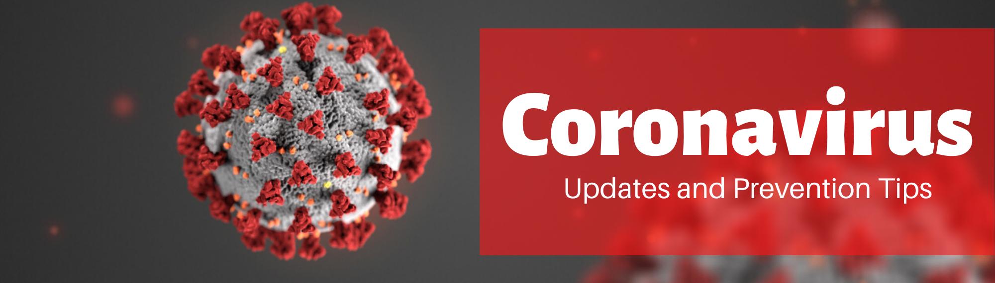 Coronavirus Updates Banner