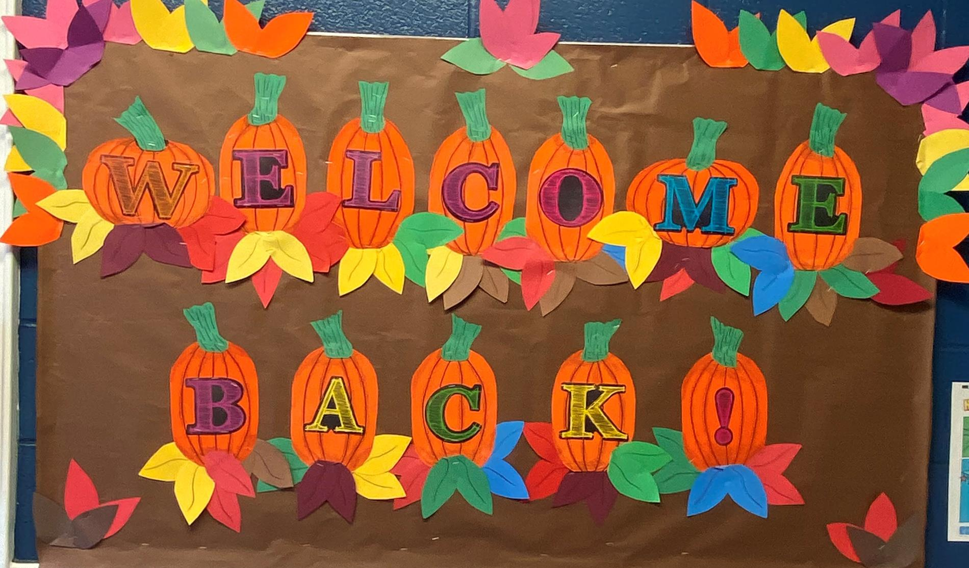 Welcome Pumpkins