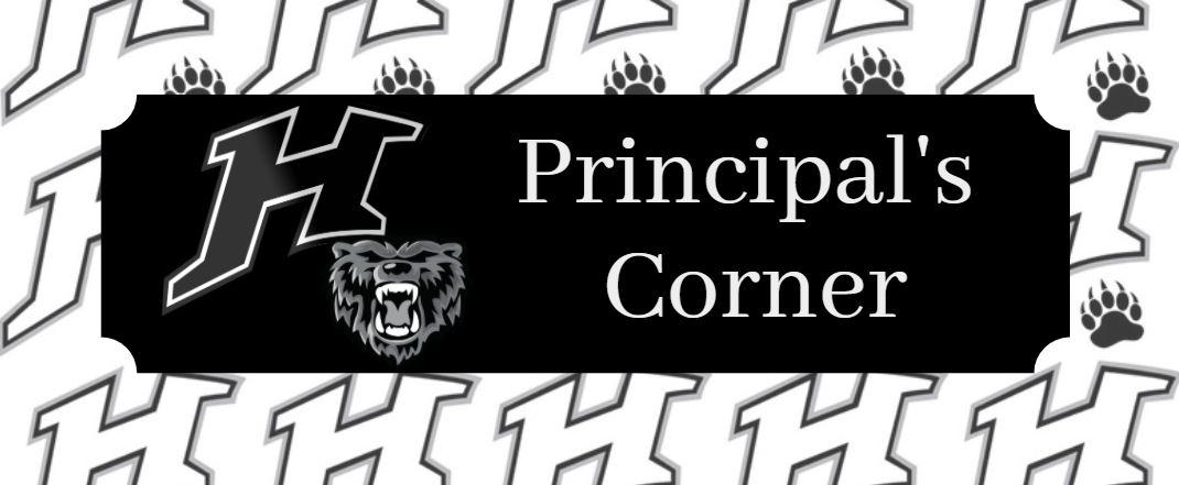 Principal's Corner