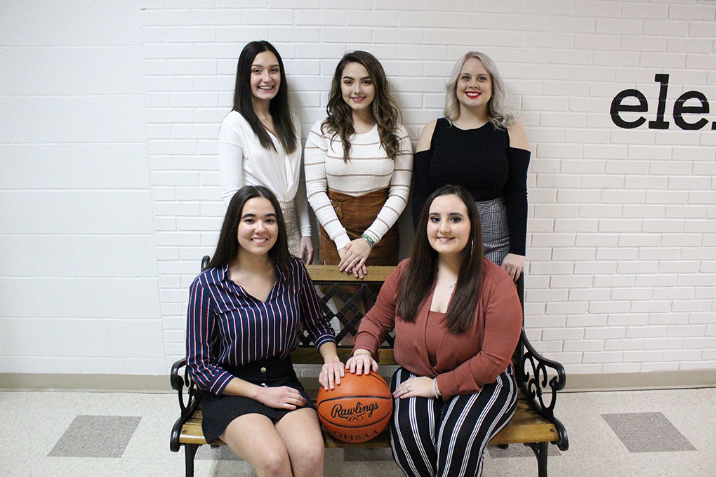 2019 - 2020 Winter Homecoming Court