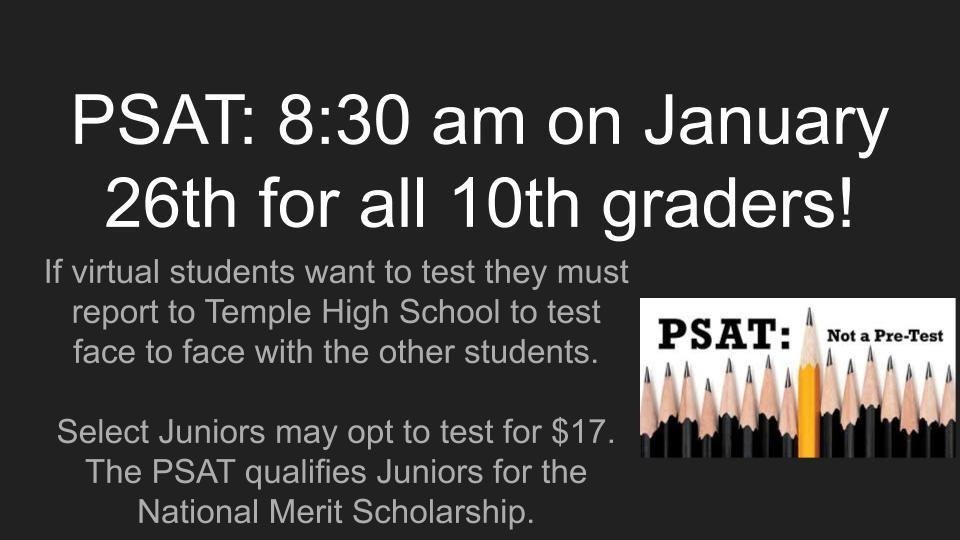 Information about PSAT