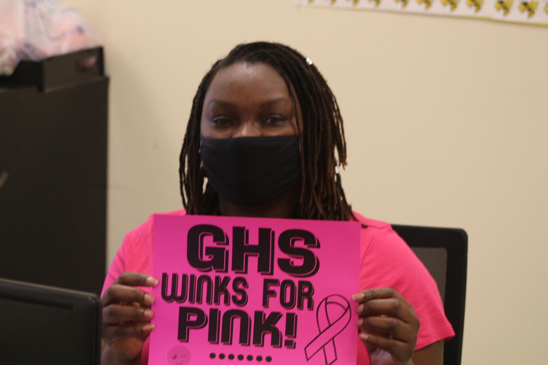 GHS Wink for Pink