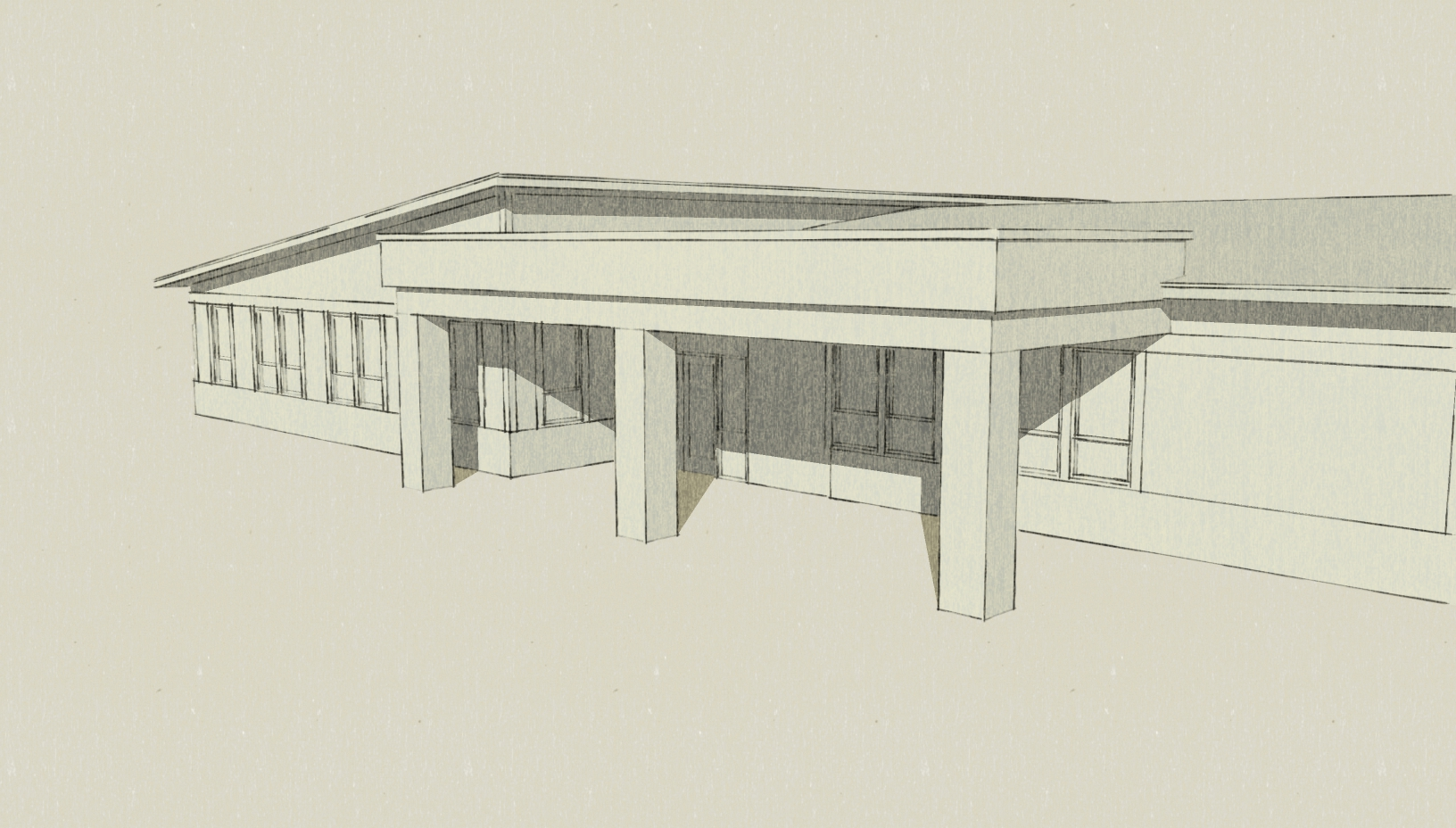 BHS Classroom rendering