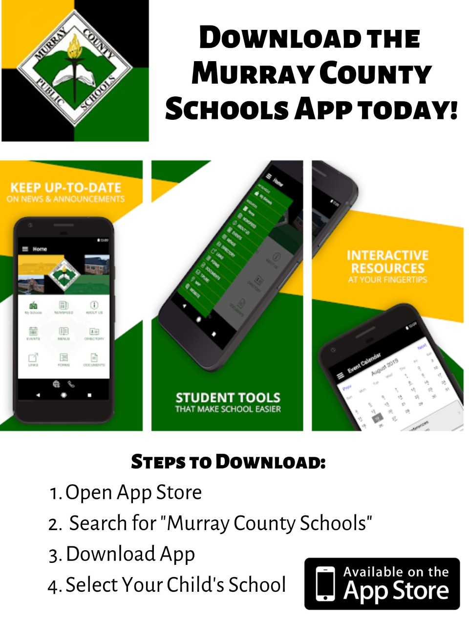 Download the New Murray County App for Communication