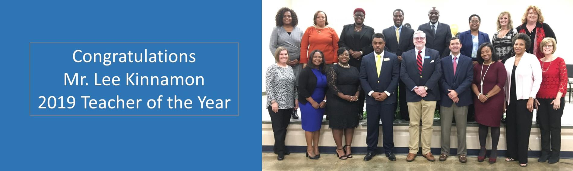 2019 SCS Teacher of the Year