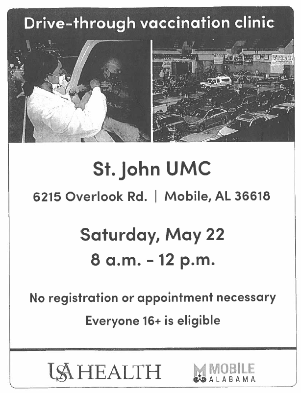 St. John UMC Covid Clinic