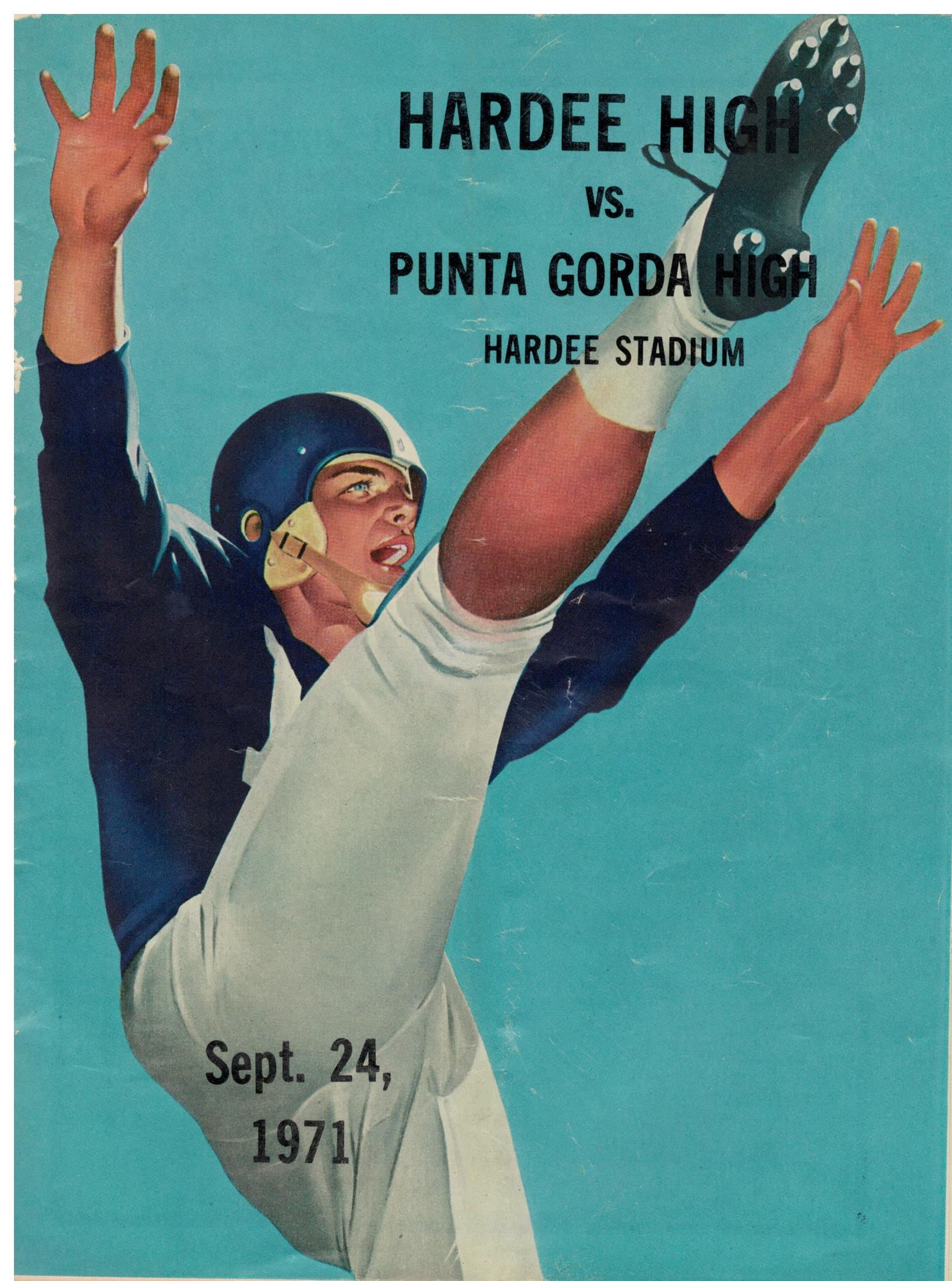 Football Program Cover