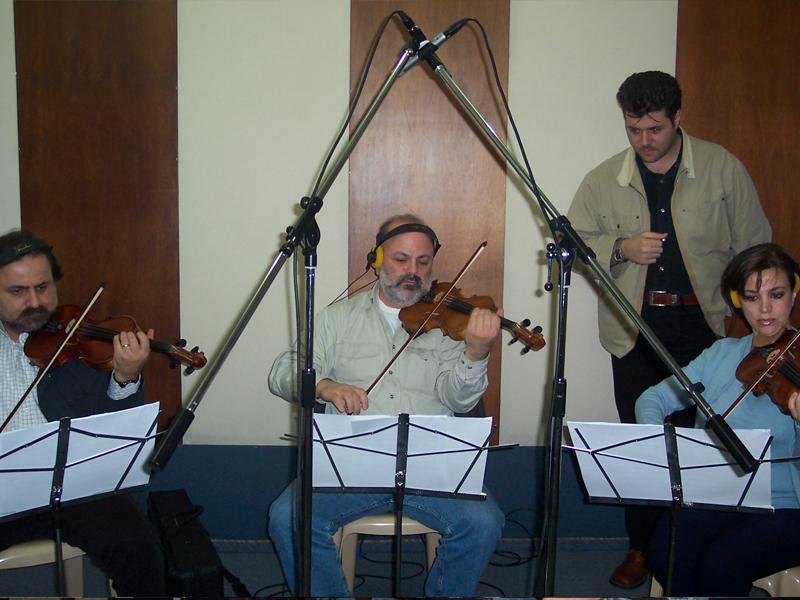 Recording the album Rah Ghanilak