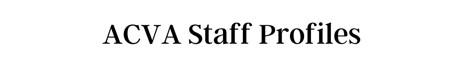 staff profiles header