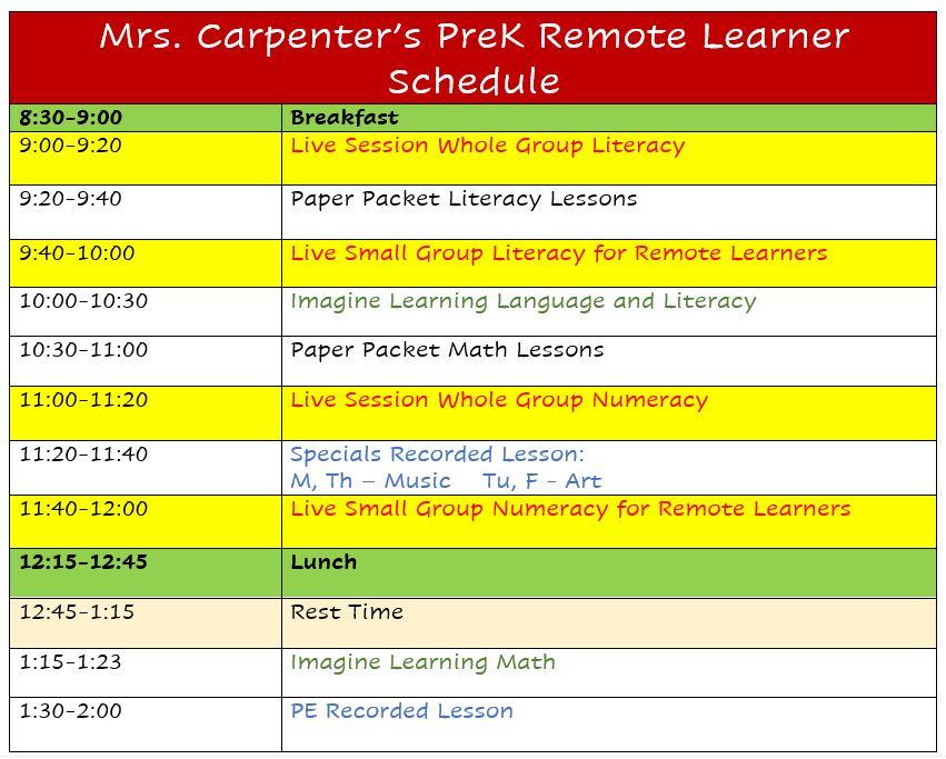 Carpenter Remote Learners