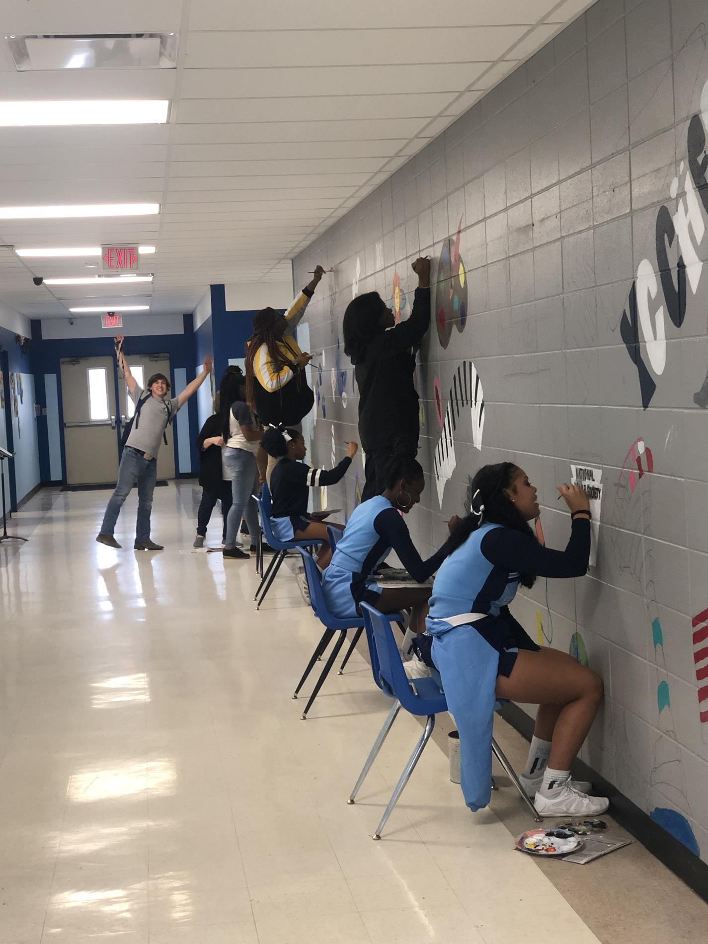 painting hs wall