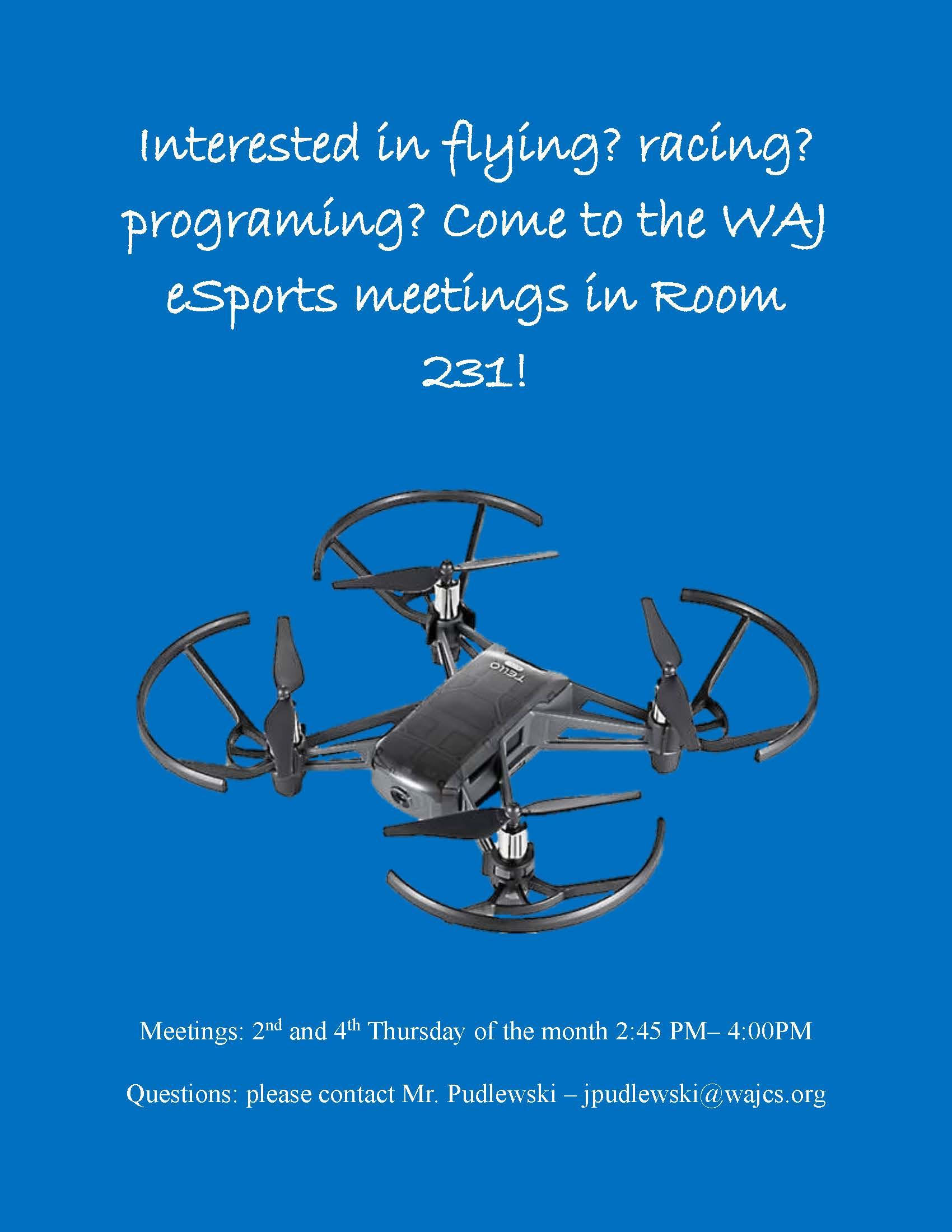 esports flyer