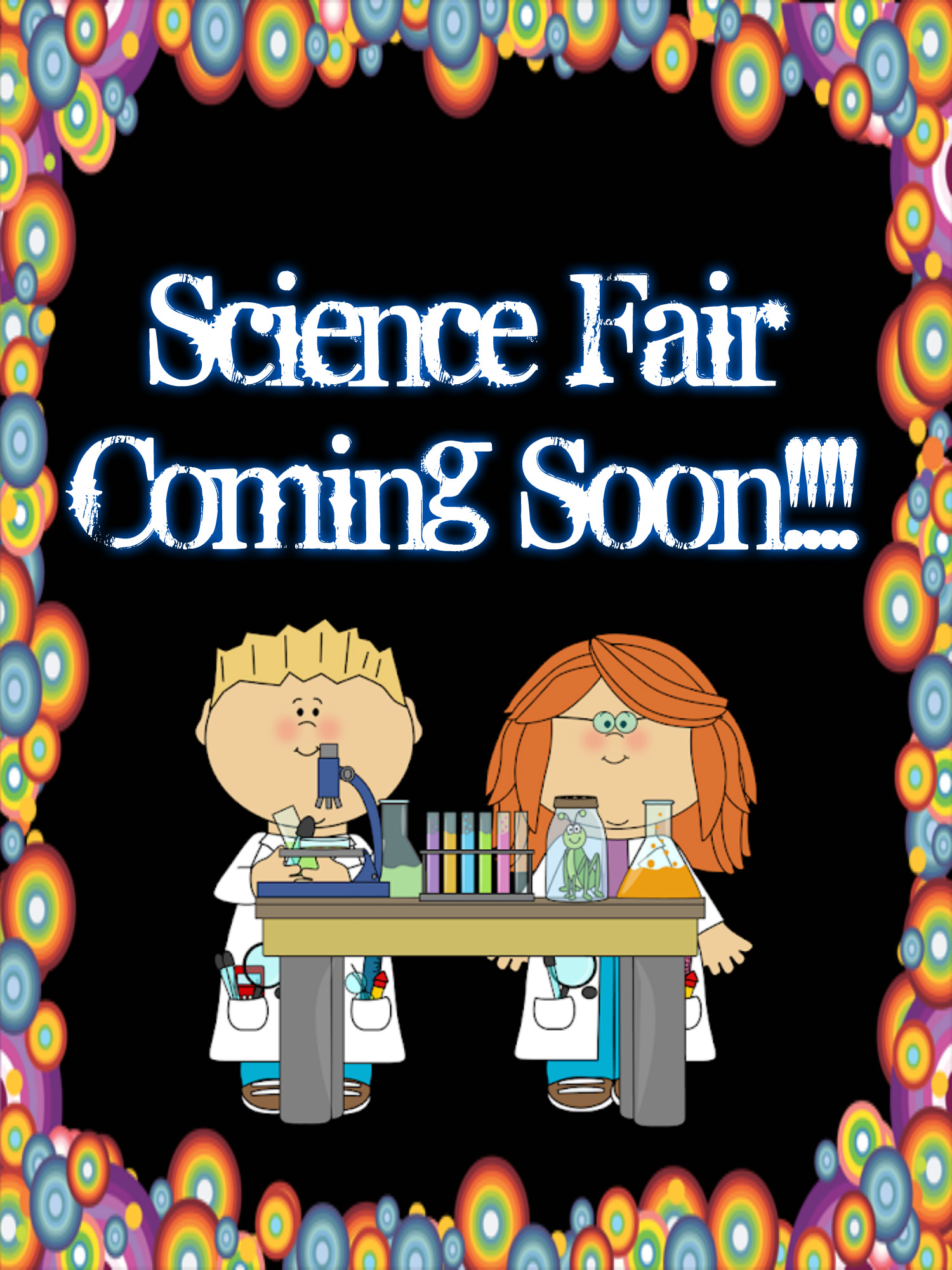Science Fair Coming Soon