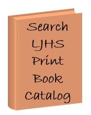 Search LJHS Print Book Catalog