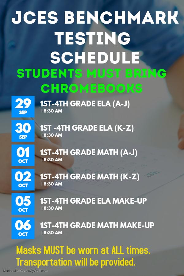 EnCase Test Schedule