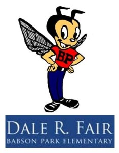 Dale R Fair school mascot banner image
