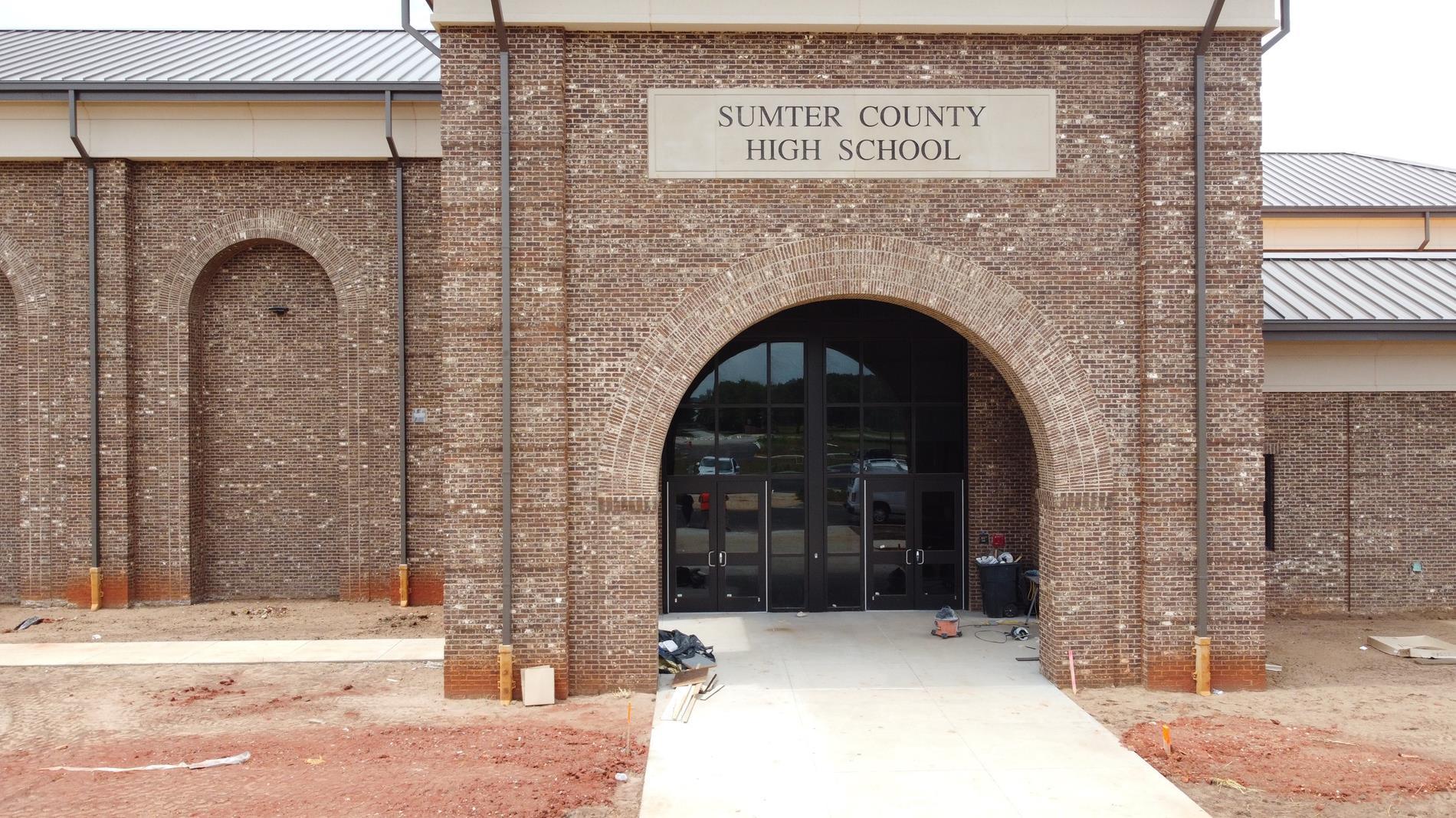 SCHS - Front Entrance