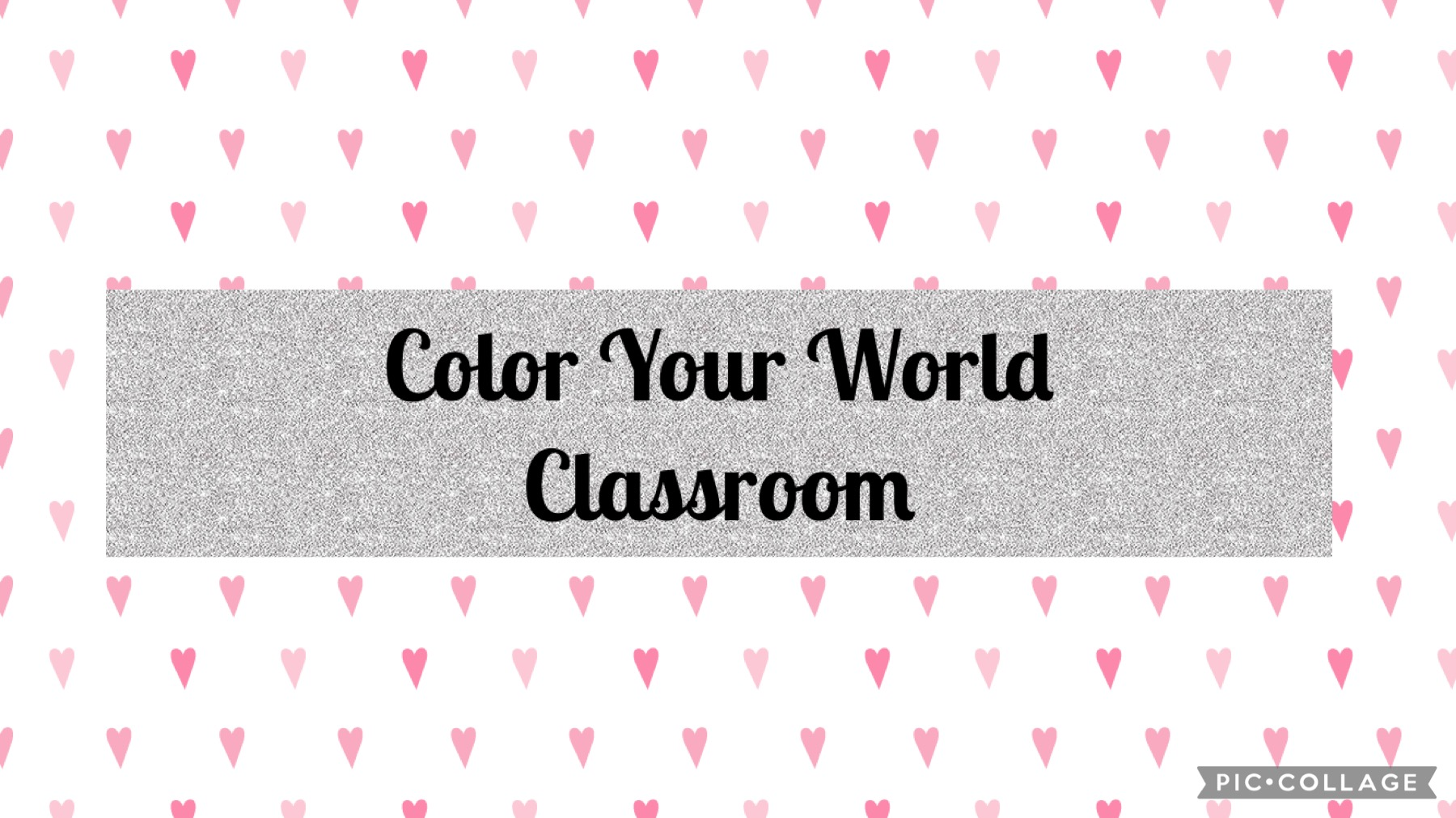 Welcome to Color Your World Classroom!