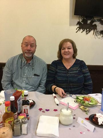 Board Chairman Julie Bennett and husband Neal Bennett