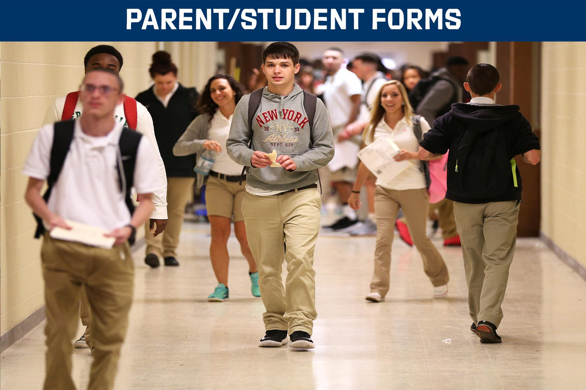 parent/student forms