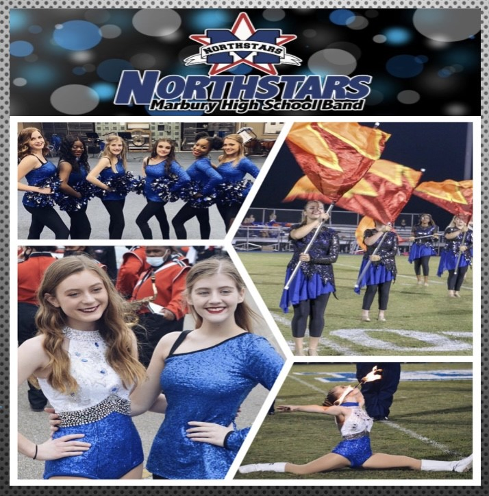 2021-2022 Marbury Northstar Colorguard, Majorette, Dance Team Try Out Information