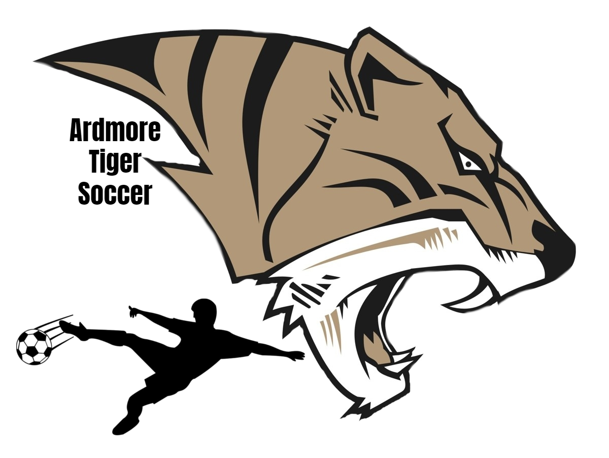 AHS Tiger Head Boys Soccer Logo