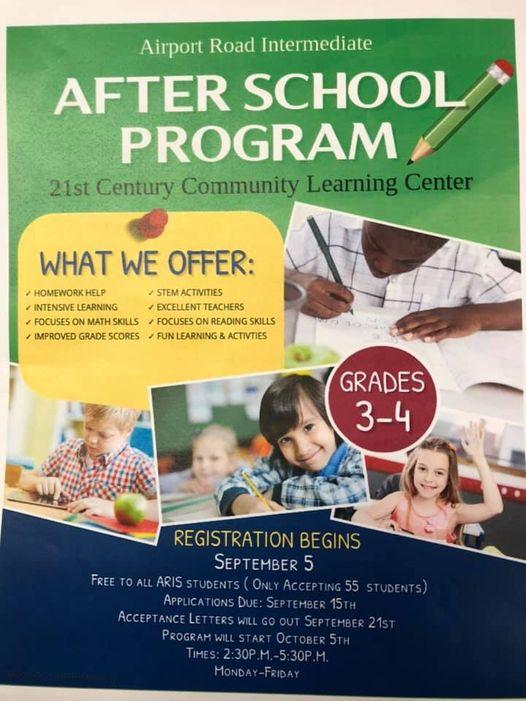 21st Century after school program graphic