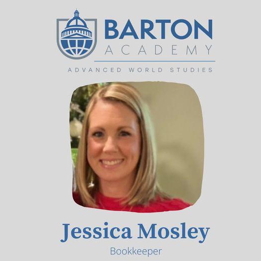 Bookkeeper Jessica Mosley