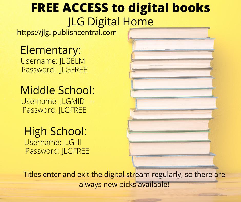 JLG Free Ebook Access