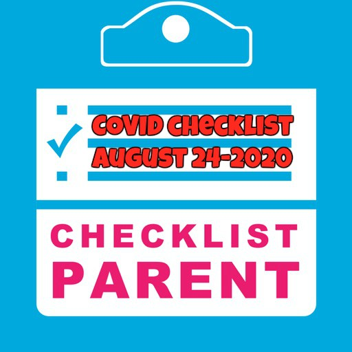 August 25 Latest News for Parents (Click Here)