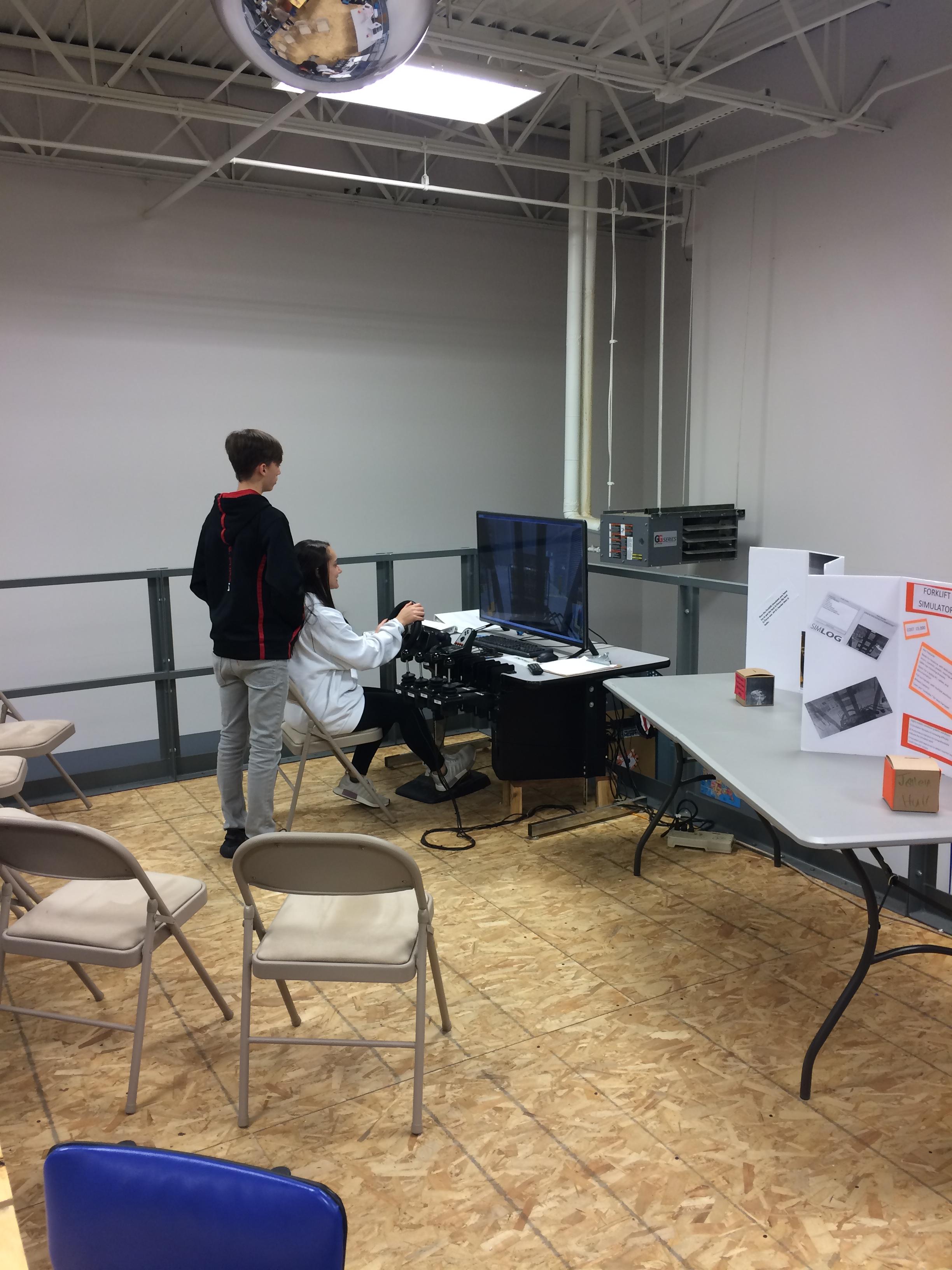 Fork Lift Simulator Training.