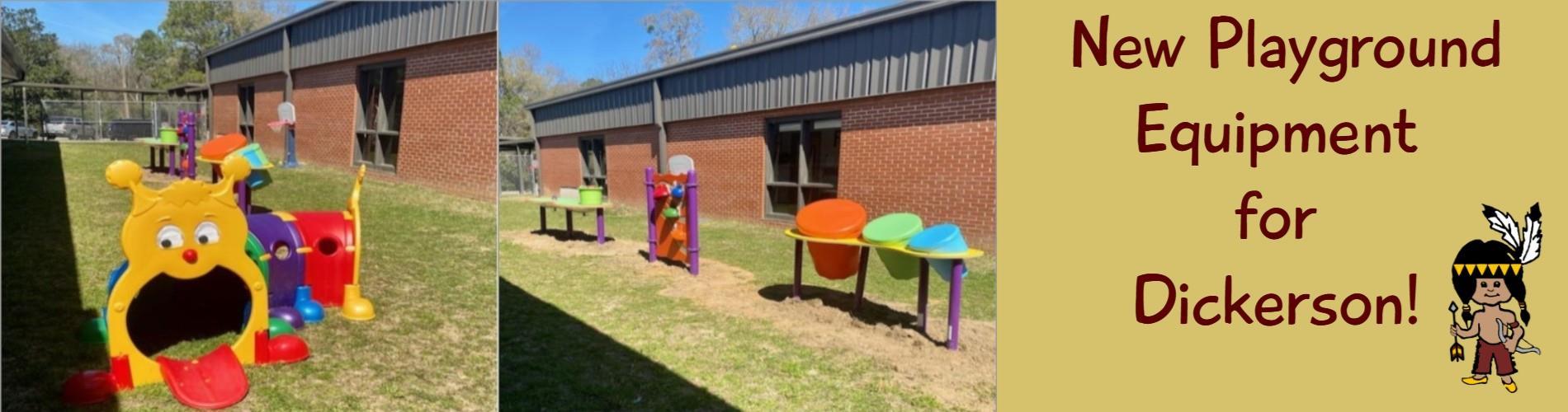 New Playground Equipment for JDD