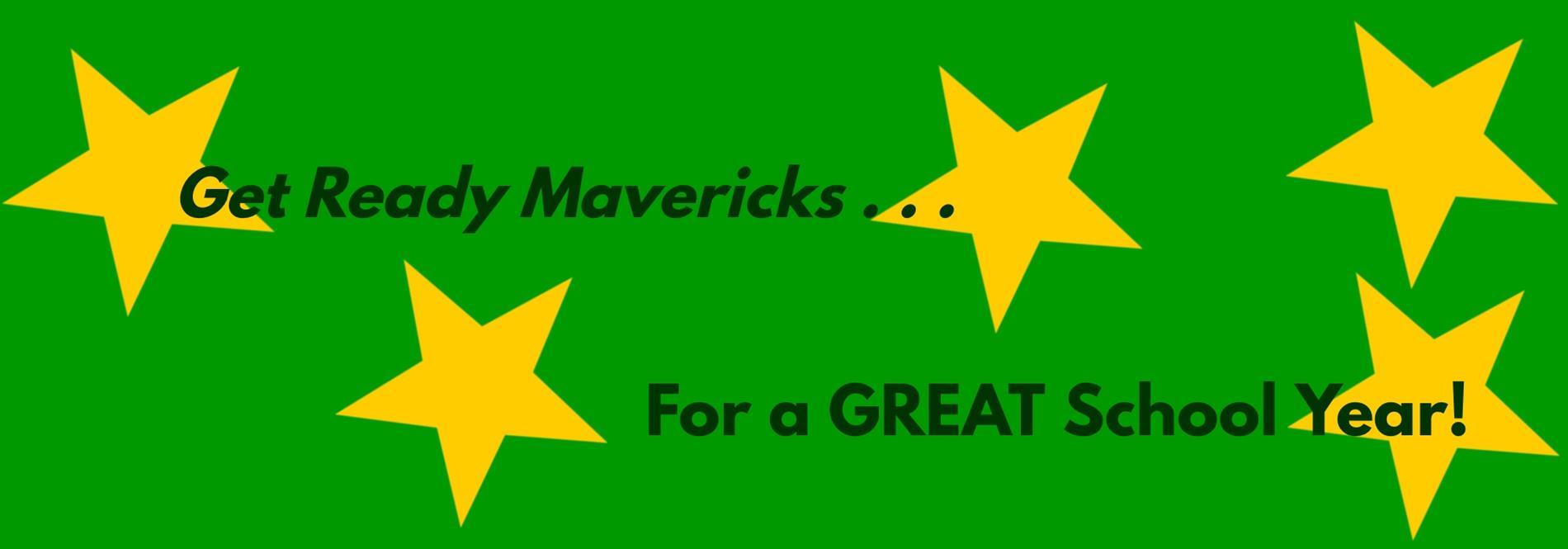 Get Ready Mavericks