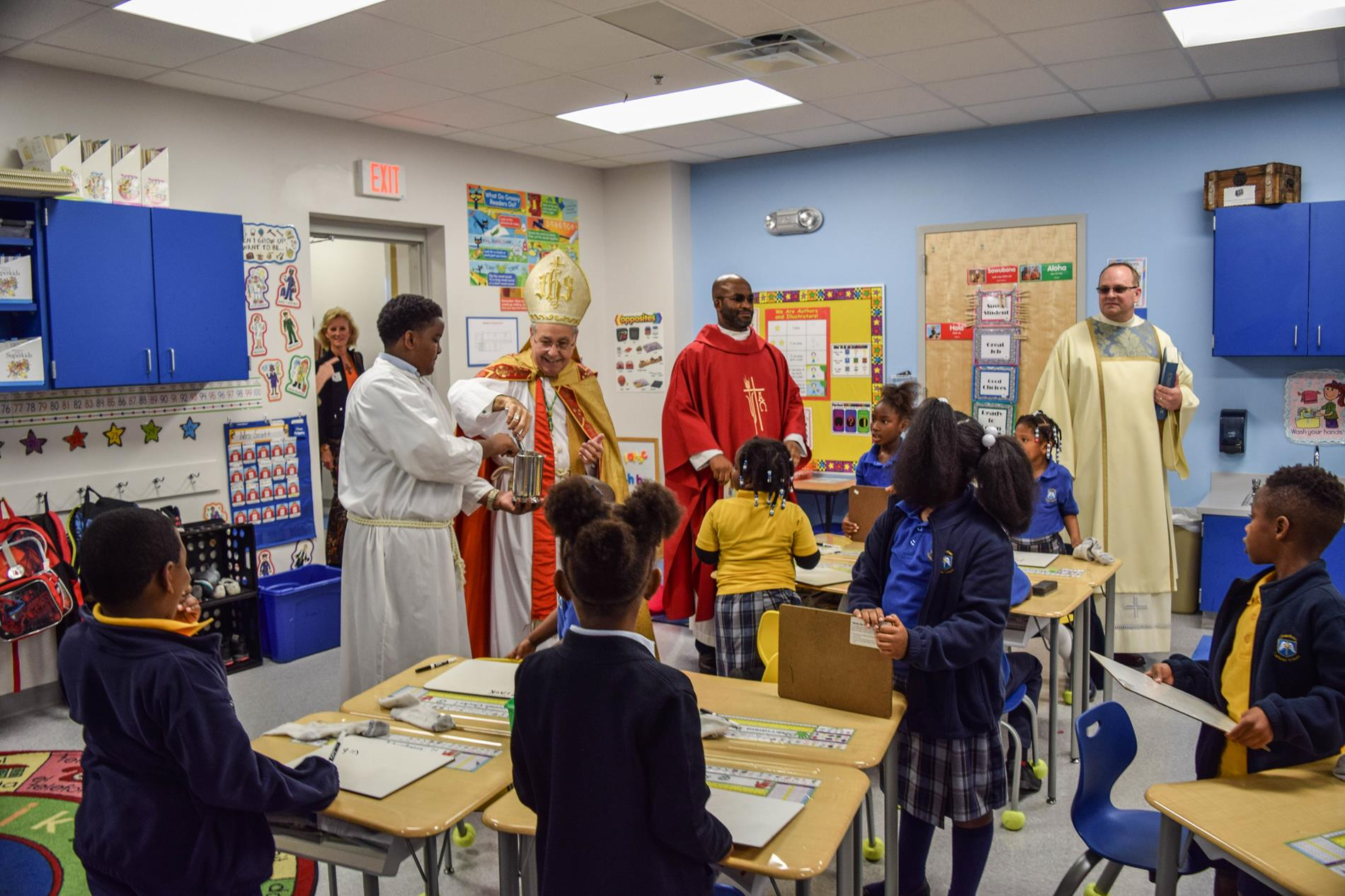 Blessing of rooms