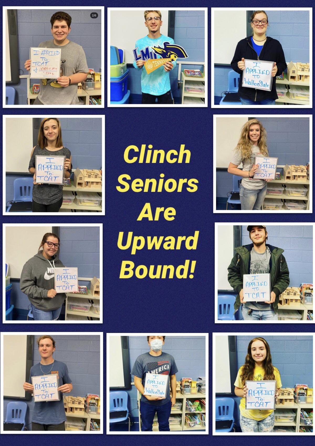 Clinch seniors are upward bound