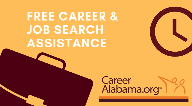 Free Career and job search assistance for Alabamians