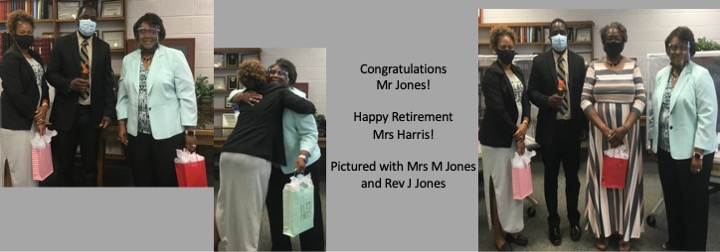 Harris and Jones with Family