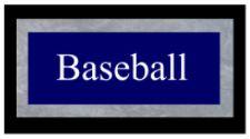 Baseball Schedule
