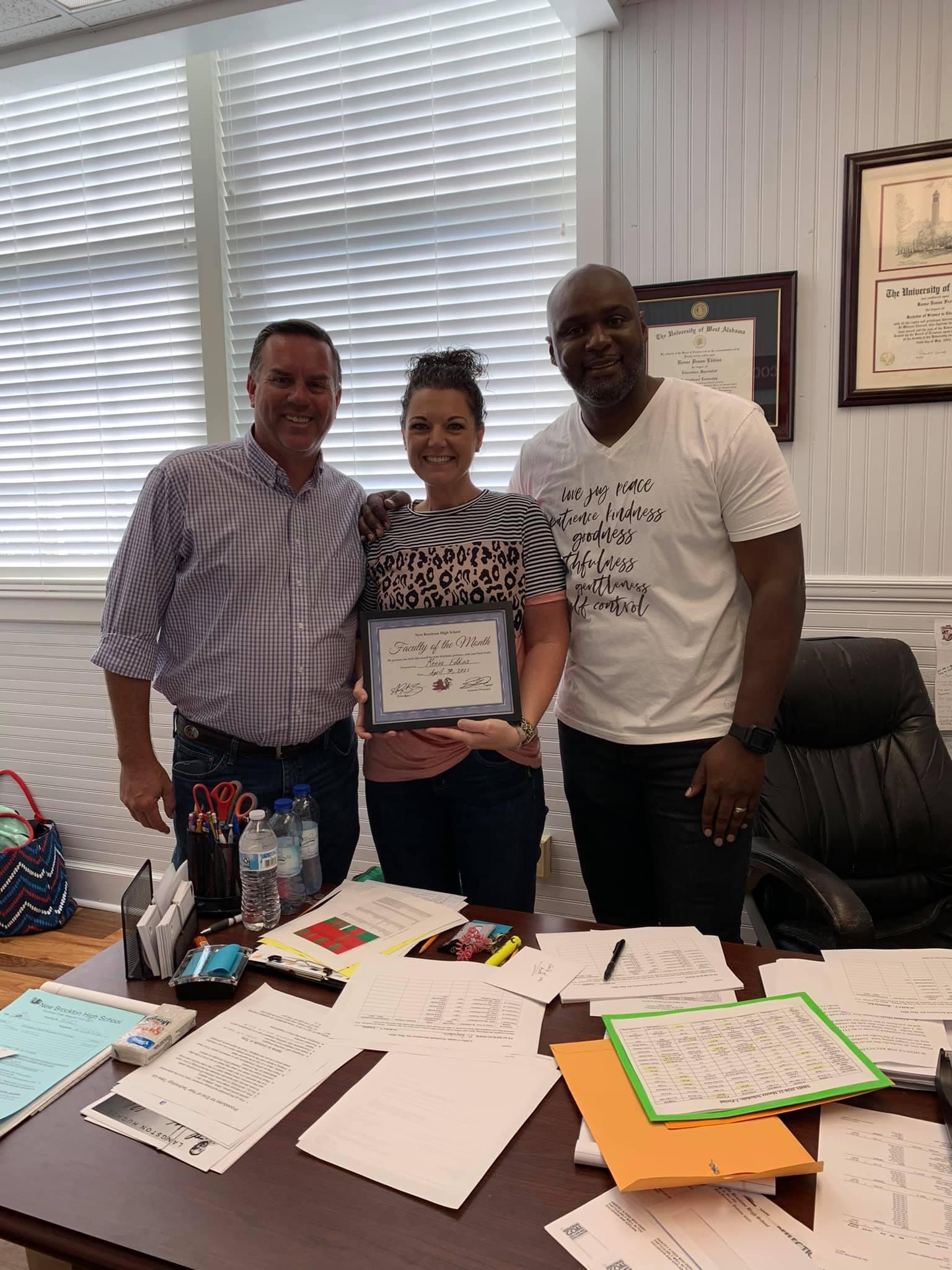 March Faculty of the Month - Renae Eddins