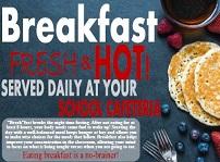 breakfast fresh and hot logo image